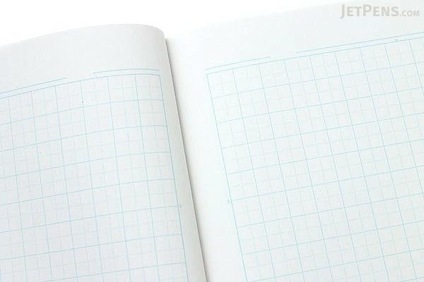 Kokuyo ReEDEN Notebook - Semi B5 - 5 mm Graph - 30 Sheets - Bundle of 5 - KOKUYO KPSN-RS10-5B BUNDLE