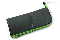 Kokuyo Neo Critz Transformer Pencil Case - Dark Green / Light Green - KOKUYO F-VBF121-5
