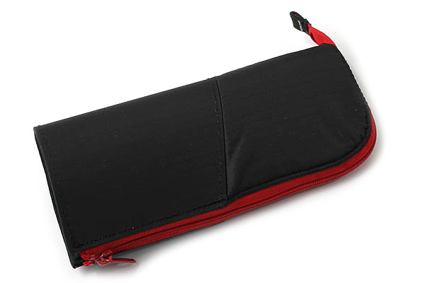 Kokuyo Neo Critz Transformer Pencil Case - Black / Red - KOKUYO F-VBF121-6