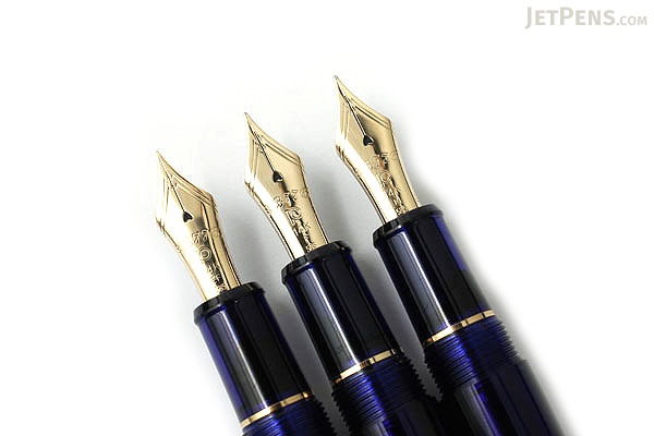 Platinum 3776 Century Fountain Pen - Chartres Blue - Medium Nib - PLATINUM PNB-10000 51-M
