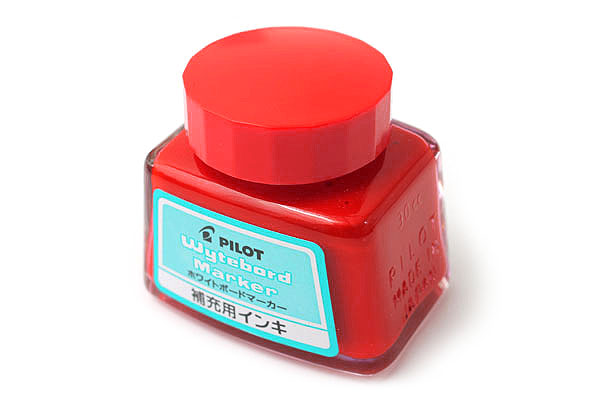 Pilot Wytebord Whiteboard Marker Ink Refill - 30 ml - Red - PILOT WBMA-40RF-R