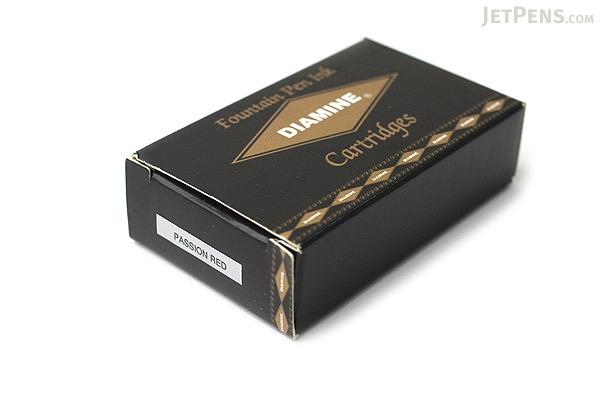 Diamine Passion Red Ink - 18 Cartridges - DIAMINE INK 8028