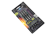 Uni-ball Signo 207 BLX Retractable Gel Pen - 0.7 mm - 4 Color Set - UNI-BALL 1838182