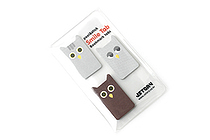 Jstory Smile Tab Stickers - Owl - JSTORY SMILE OWL