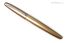 Pilot Metropolitan Fountain Pen - Gold Plain - Medium Nib - PILOT MRFC1BLKMGLDP