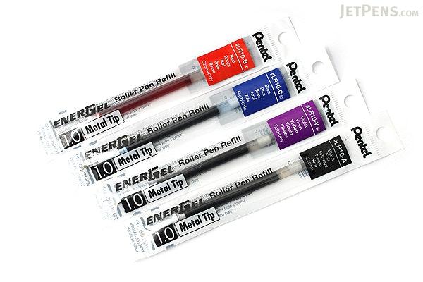 Pentel EnerGel LR10 Gel Pen Refill - 1.0 mm - Blue - PENTEL LR10-C