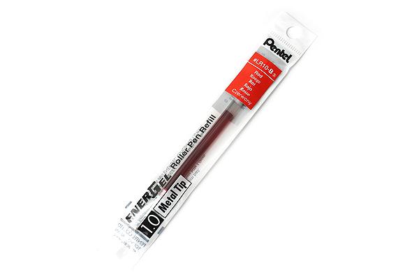 Pentel EnerGel LR10 Gel Pen Refill - 1.0 mm - Red - PENTEL LR10-B