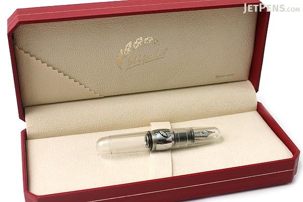 Stipula Passaporto Fountain Pen - Medium Nib - Clear Body - STIPULA ST48732