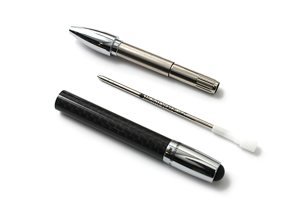 Monteverde M1 Carbon Fiber Ballpoint Pen + Stylus - Medium Point - MONTEVERDE MV29821