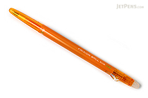 Pilot FriXion Ball Slim Gel Pen - 0.38 mm - Apricot Orange - PILOT LFBS-18UF-AO