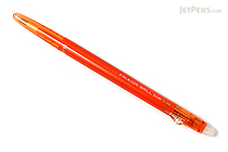 Pilot FriXion Ball Slim Gel Pen - 0.38 mm - Orange - PILOT LFBS-18UF-O