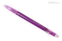 Pilot FriXion Ball Slim Gel Pen - 0.38 mm - Purple - PILOT LFBS-18UF-PU