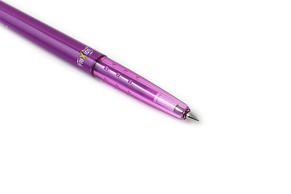 Pilot FriXion Ball Slim Gel Pen - 0.38 mm - Purple - PILOT LFBS-18UF-PU