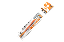Pilot FriXion Ball Slim Gel Pen Refill - 0.38 mm - Apricot Orange - PILOT LFBTRF12UFAO