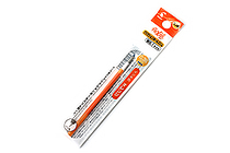 Pilot FriXion Ball Slim Gel Pen Refill - 0.38 mm - Orange - PILOT LFBTRF12UFO