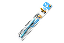 Pilot FriXion Ball Slim Gel Pen Refill - 0.38 mm - Light Blue - PILOT LFBTRF12UFLB