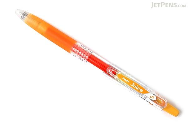 Pilot Juice Gel Pen - 0.5 mm - Apricot Orange - PILOT LJU-10EF-AO