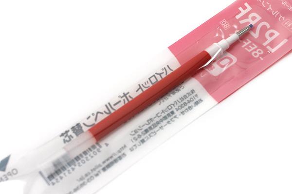 Pilot LP2RF Gel Pen Refill - 0.5 mm - Red - PILOT LP2RF-8EF-R