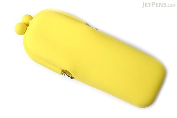 P+G Pochi Slim Silicone Pen Case - Yellow - P+G POCHI SLIM YL