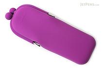 P+G Pochi Slim Silicone Pen Case - Purple - P+G POCHI SLIM PL