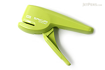 Max Sakuri Stitcher Staple-Less Stapler - Light Green - MAX HPS-5-LG