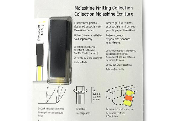 Moleskine Fluorescent Roller Pen - 1.2 mm - Fluo Yellow - MOLESKINE 978-88-6613-511-1
