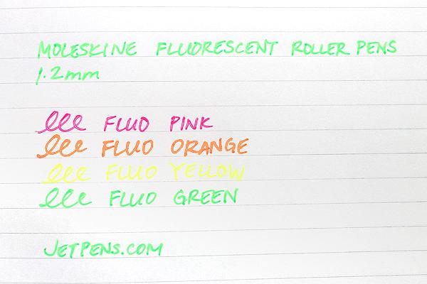 Moleskine Fluorescent Roller Pen - 1.2 mm - Fluo Orange - MOLESKINE 978-88-6613-510-4