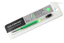 Moleskine Roller Pen Gel Refill - 1.2 mm - Fluo Green - MOLESKINE 978-88-6613-516-6