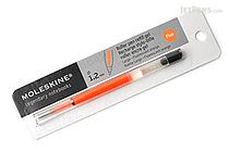 Moleskine Roller Pen Gel Ink Refill - 1.2 mm - Fluo Orange - MOLESKINE 978-88-6613-514-2