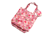 Kurochiku Japanese Pattern Eco-Bag - Small - Nobara (Wild Rose) - KUROCHIKU 21006802