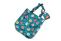 Kurochiku Japanese Pattern Eco-Bag - Small - Nejibana (Twist Flower) - KUROCHIKU 21006804