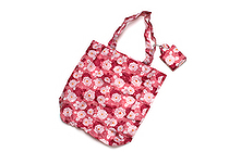 Kurochiku Japanese Pattern Eco-Bag - Small - Hanagiku (Chrysanthemum) - KUROCHIKU 20706315
