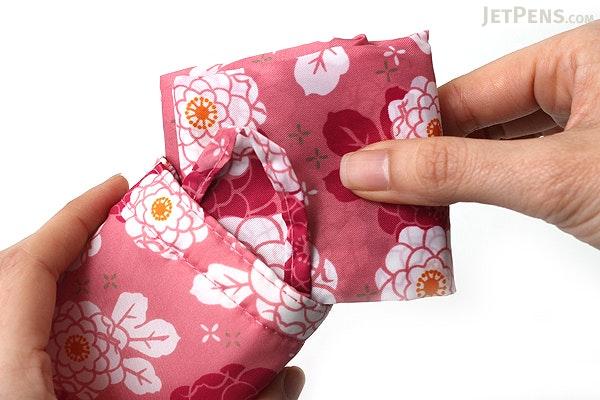 Kurochiku Japanese Pattern Eco-Bag - Small - Hanagiku (Chrysanthemum) - KUROCHIKU 20706315