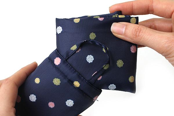 Kurochiku Japanese Pattern Eco-Bag - Small - Konpeitou (Sugar Candy) - KUROCHIKU 20706317