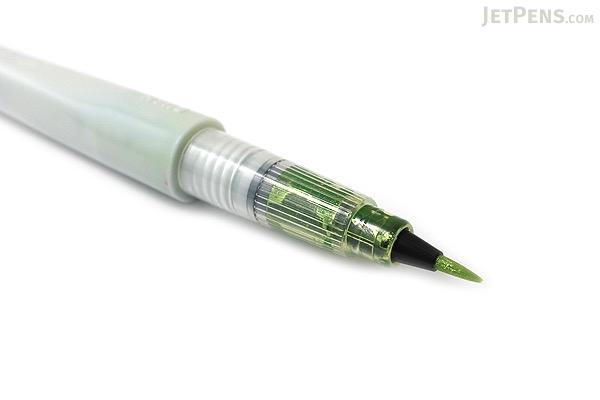 Kuretake Zig Wink of Stella Glitter Brush Pen - Light Green - KURETAKE MS-55-041