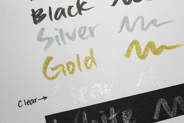 Kuretake Zig Wink of Stella Glitter Brush Pen - Clear - KURETAKE MS-55-999