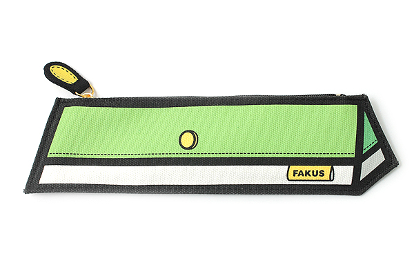 Sun-Star Fakus 2 Pencil Case - Green - SUN-STAR S1402030