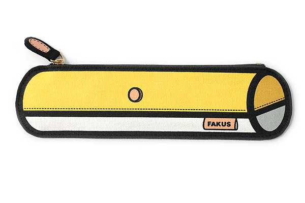 Sun-Star Fakus 2 Pencil Case - Yellow - SUN-STAR S1402048