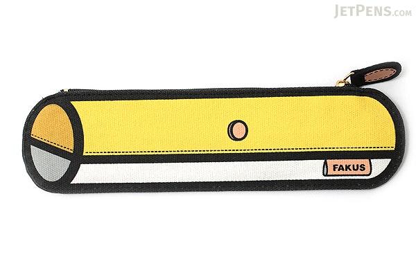 Sun-Star Fakus 2 Pencil Case - Yellow - SUN-STAR S1402048
