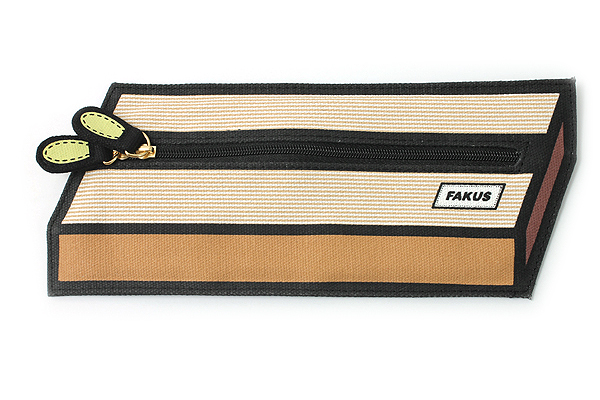 Sun-Star Fakus 2 Pencil Case - Brown - SUN-STAR S1402056