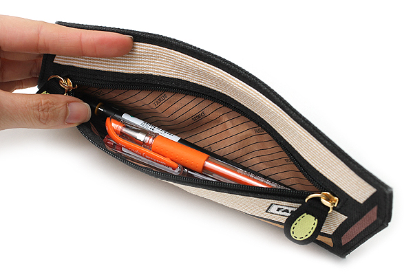 Sun-Star Fakus 2 Pencil Case - Brown - SUN-STAR S1402056