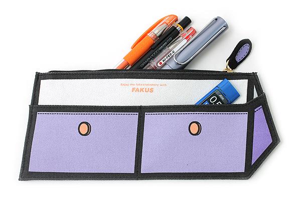 Sun-Star Fakus 2 Pencil Case - Violet - SUN-STAR S1402064