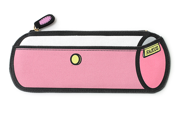 Sun-Star Fakus 2 Pencil Case - Pink - SUN-STAR S1402072