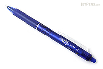 Pilot FriXion Ball Clicker US Gel Pen - 0.7 mm - Blue - PILOT FXC--BLUFBC
