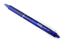 Pilot FriXion Ball Clicker US Erasable Gel Pen - 0.7 mm - Blue - PILOT 31475