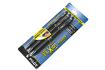Pilot FriXion Ball Clicker US Erasable Gel Pen - 0.7 mm - Black - Pack of 3 - PILOT 31464