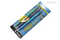 Pilot FriXion Ball Clicker US Gel Pen - 0.7 mm - 3 Color Set (Green / Purple / Turquoise) - PILOT FXCC3003F