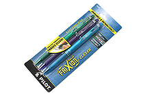 Pilot FriXion Ball Clicker US Erasable Gel Pen - 0.7 mm - 3 Color Set (Green / Purple / Turquoise) - PILOT FXCC3003F
