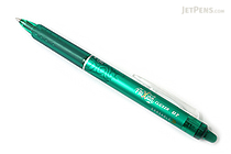 Pilot FriXion Ball Clicker US Gel Pen - 0.7 mm - Green - PILOT FXC--GRNFBC