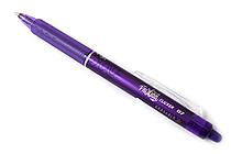Pilot FriXion Ball Clicker US Erasable Gel Pen - 0.7 mm - Purple - PILOT 31480